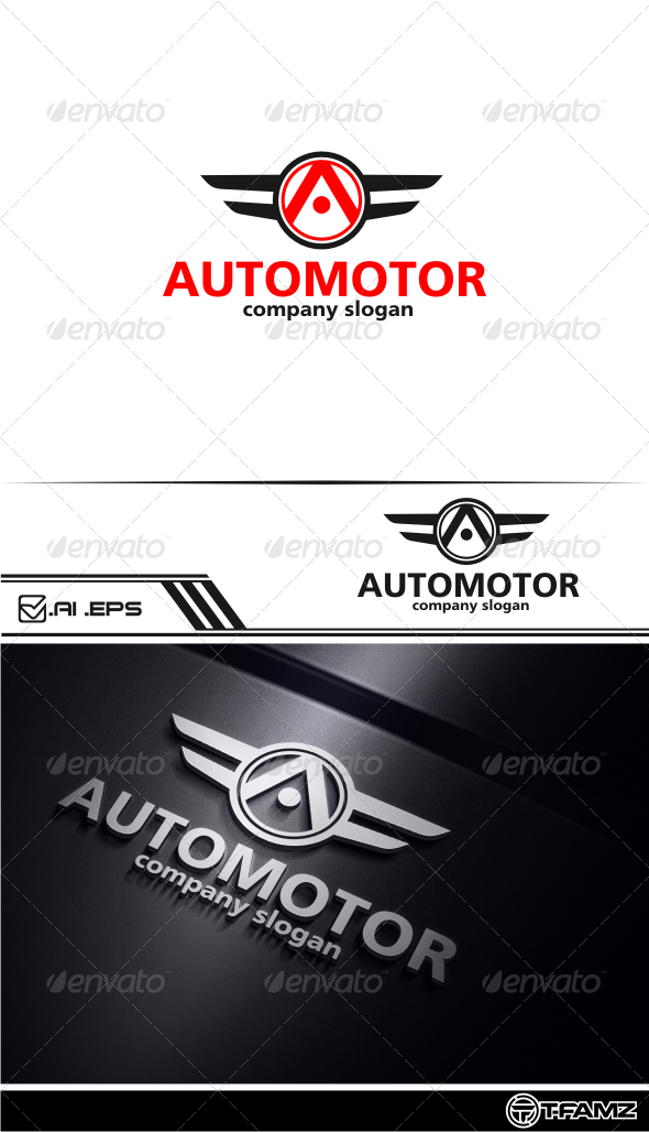 GraphicRiver automotor logo templates 5028895
