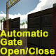 Automatic Gate Open and Close on Camera Approach - ActiveDen Item for Sale