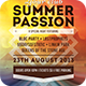 Summer Passion Flyer - GraphicRiver Item for Sale