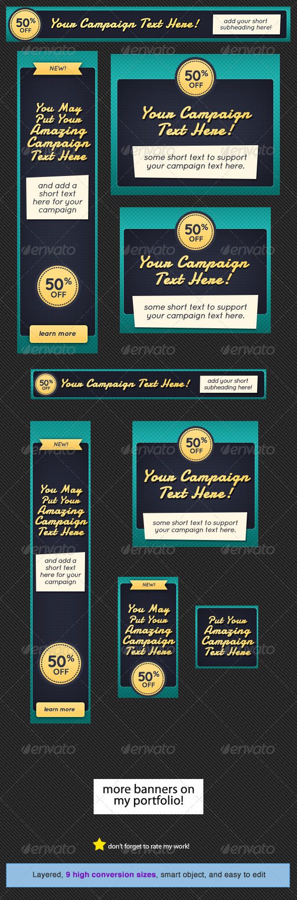 GraphicRiver Creative Web Banner Design Template 5030210