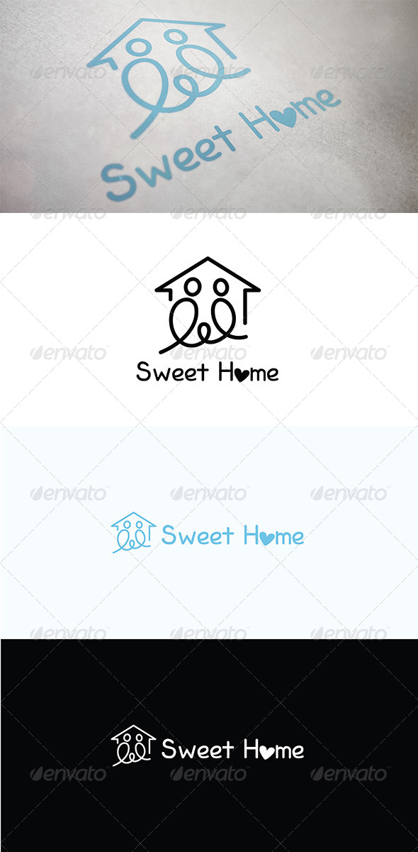 GraphicRiver Sweet Home 5031085