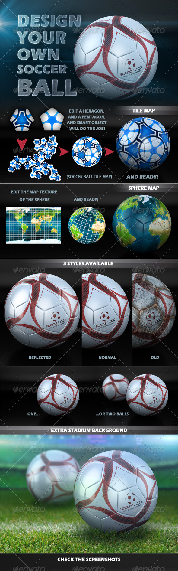 GraphicRiver Soccer Ball Design Creator 5032154