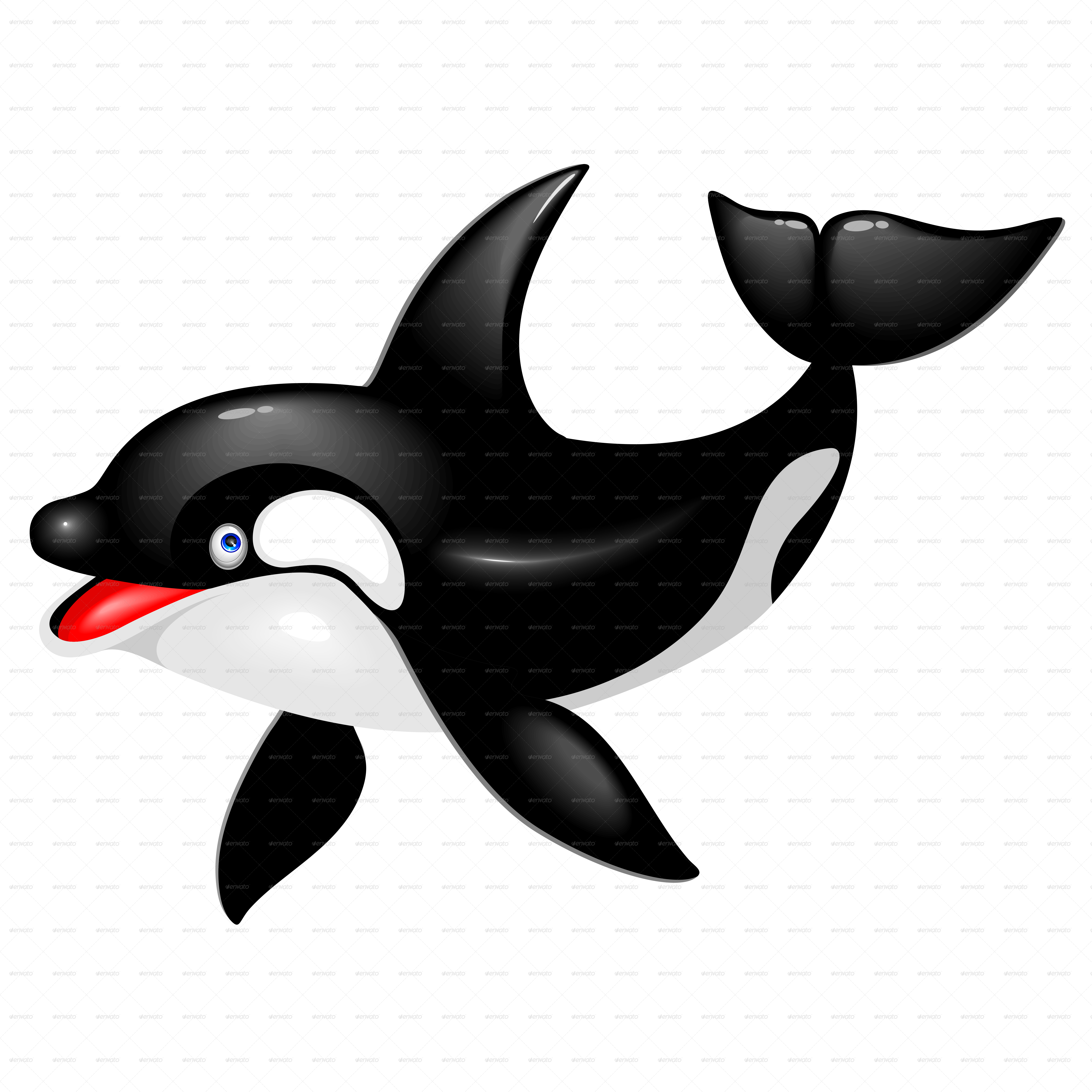 the gallery for gt cartoon mean killer whale