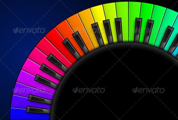 GraphicRiver Piano Keys 5032497