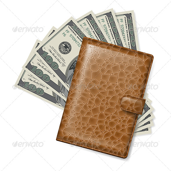 GraphicRiver Leather Wallet 5032501