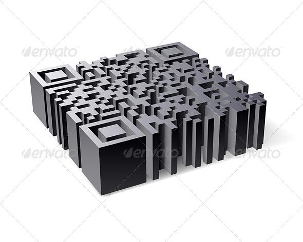 GraphicRiver 3D QR Code 5032503