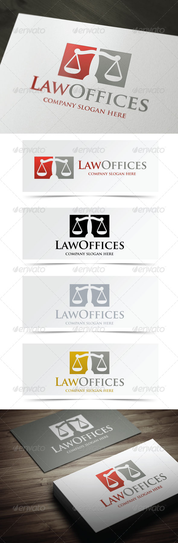 GraphicRiver Law Offices 5033002
