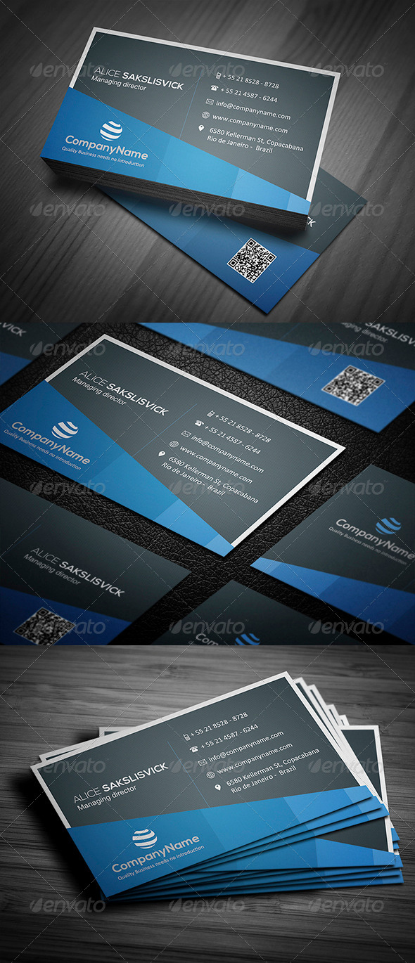 GraphicRiver Corporate Business Card 009 5033609