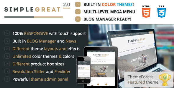 Download SimpleGreat – Premium Responsive OpenCart theme! nulled download