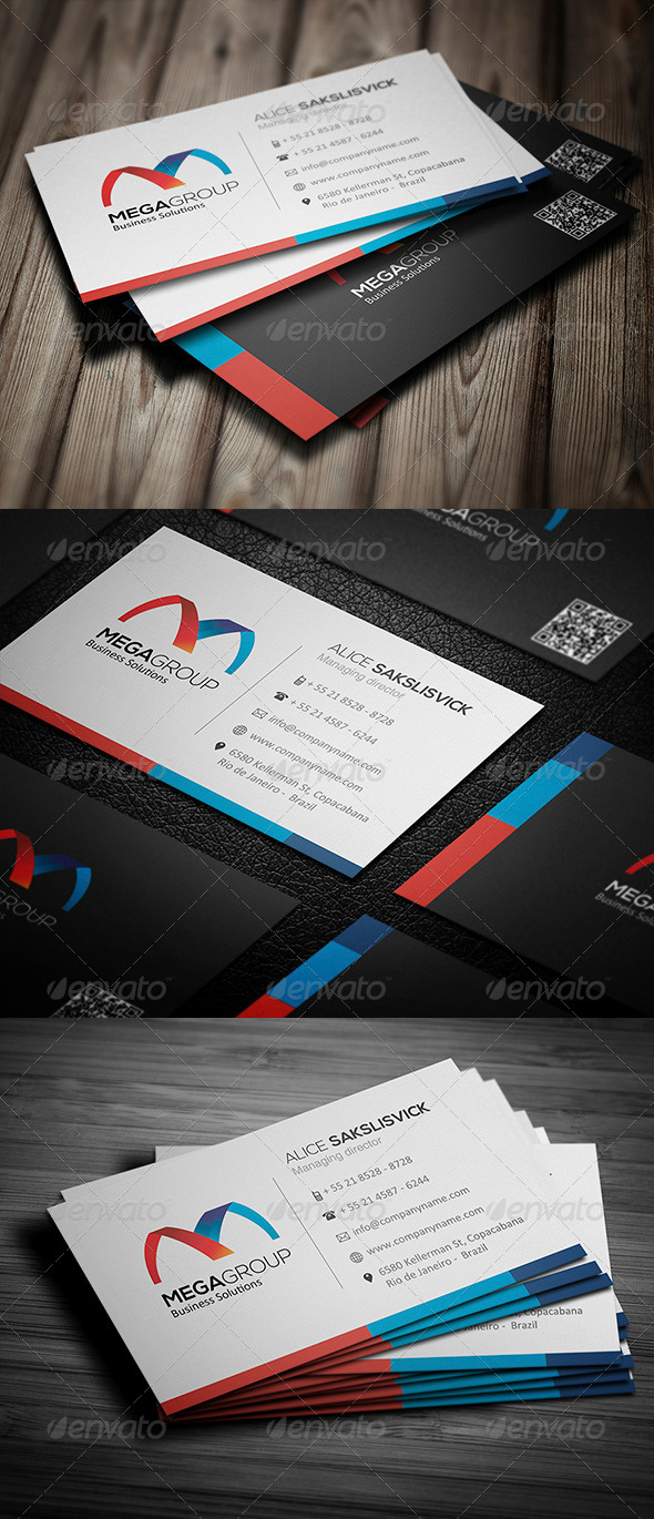 GraphicRiver Corporate Business Card 010 5033733