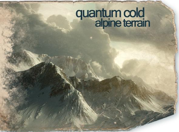 3DOcean Quantum Cold Alpine Terrain Pack 5033940