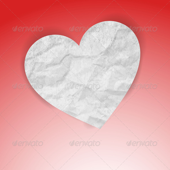 GraphicRiver Paper Heart 5034378
