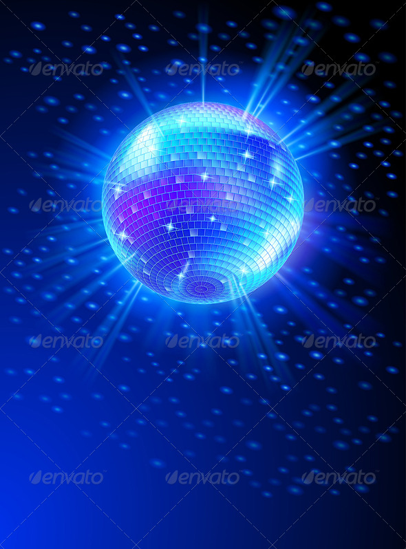 GraphicRiver Mirror Disco Ball 5034417