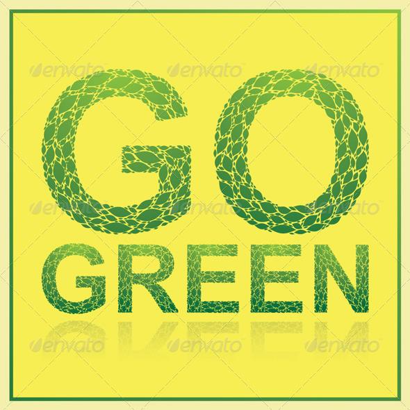 GraphicRiver Go Green 5034618