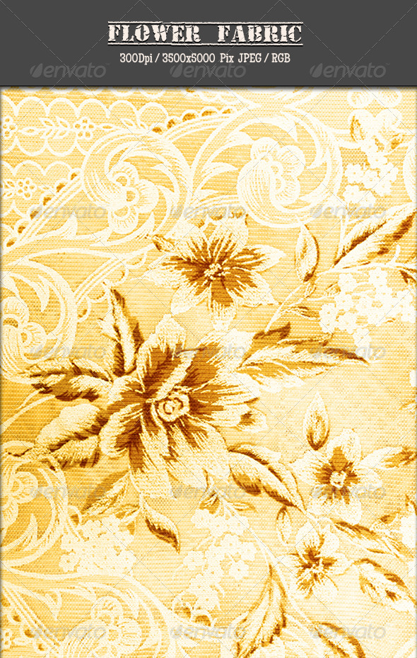GraphicRiver Flower Fabric 17 5035643