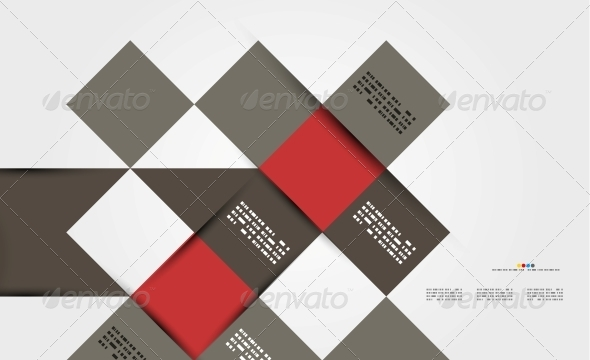 GraphicRiver Modern Geometrical Abstract Template 5035878