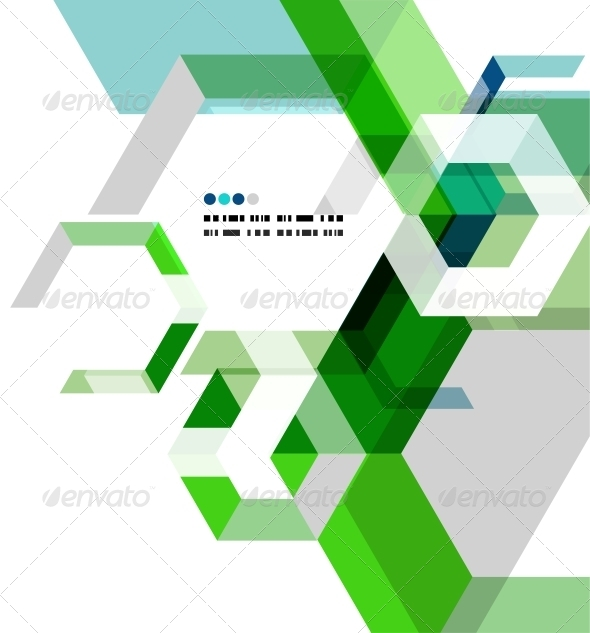 GraphicRiver Modern Geometrical Abstract Template 5035894