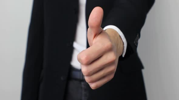 VideoHive Businessman Showing Thumbs Up 18671517