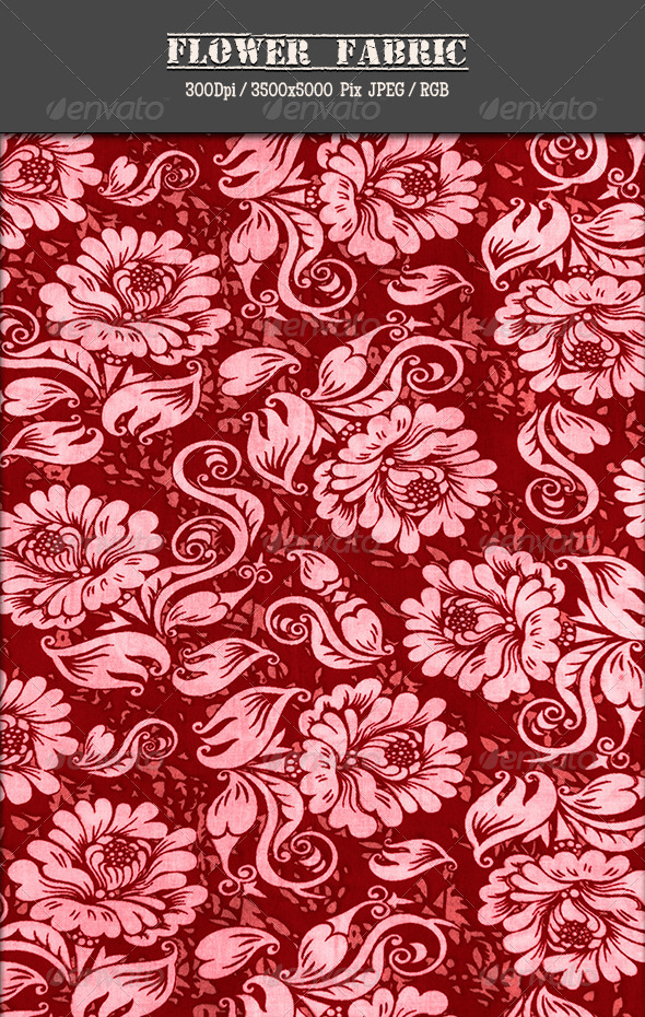 GraphicRiver Flower Fabric 19 5036024