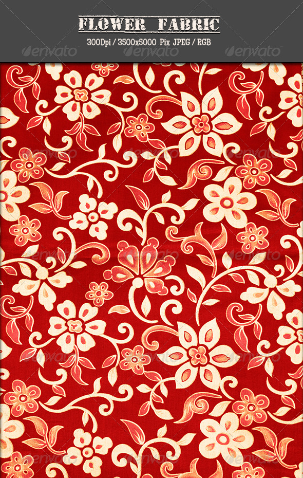 GraphicRiver Flower Fabric 20 5036279