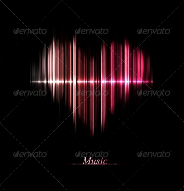 GraphicRiver Love of Music 5036658