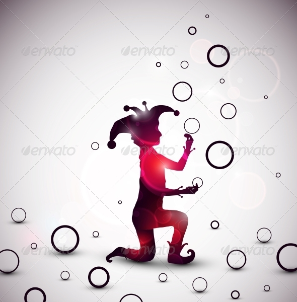 GraphicRiver Jester Juggling Rings 5036672