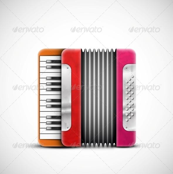 GraphicRiver Colorful Accordion 5036794