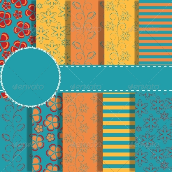 GraphicRiver Set of Paper for Scrapbook 5037292