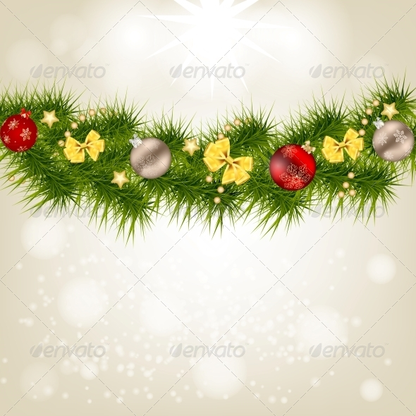 GraphicRiver Christmas and New Year Background 5037369