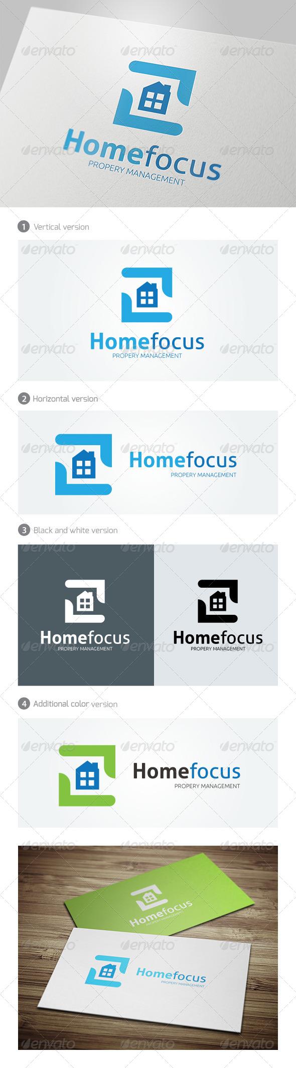GraphicRiver Home Focus Logo 5037455