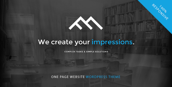 FollowMe — Responsive OnePage WordPress Theme