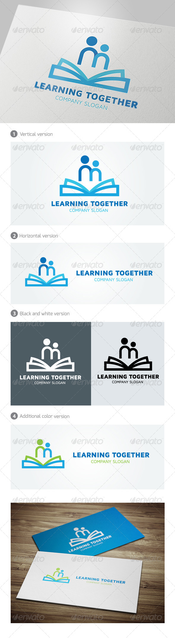 GraphicRiver Learning Together 5037661