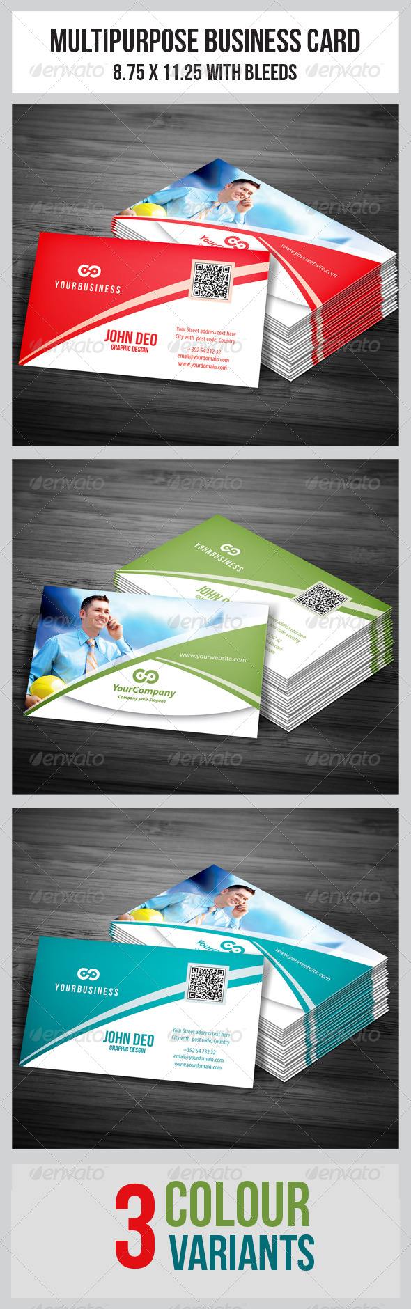 GraphicRiver Corporate Business Cards 5037763
