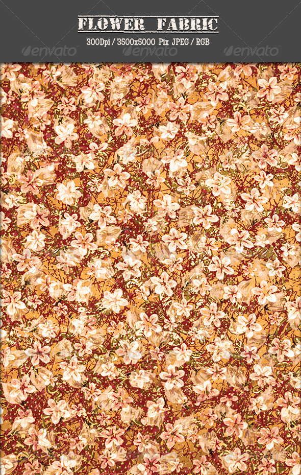 GraphicRiver Flower Fabric 25 5037935