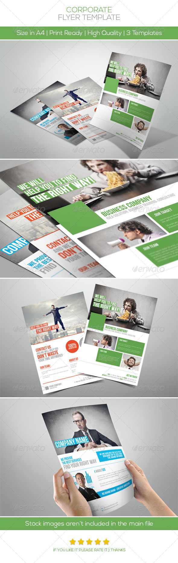 GraphicRiver Premium Corporate Flyers Vol.3 5038640
