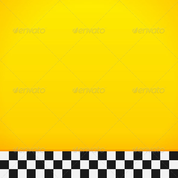 GraphicRiver Taxi Checkerboard Pattern 5038761