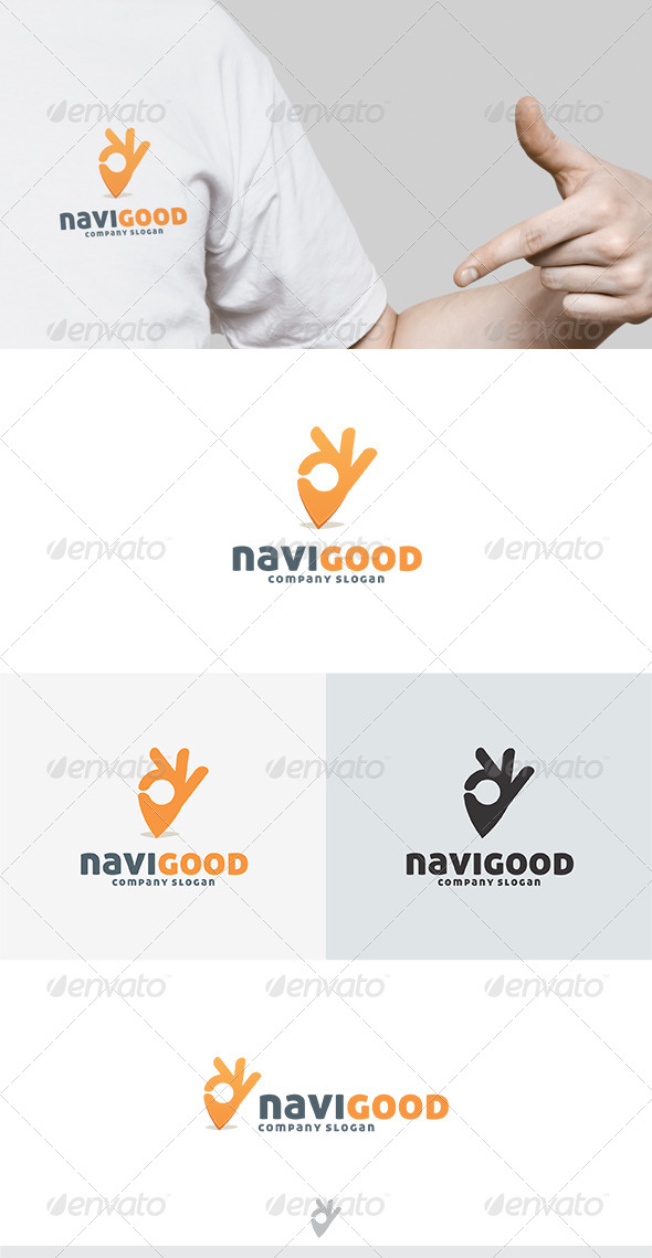 GraphicRiver Navi Good Logo 5039004