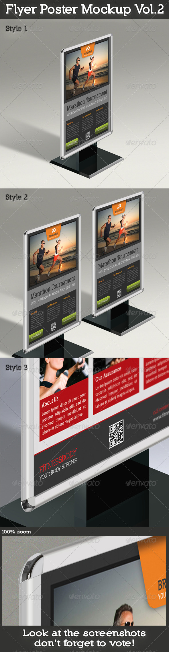 GraphicRiver Flyer And Poster Mockup Vol.2 5039250