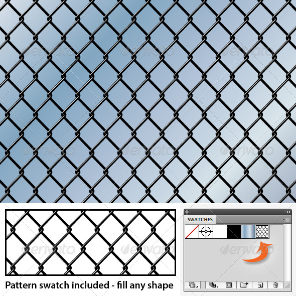 GraphicRiver Chain Link Seamless background Pattern 5039471