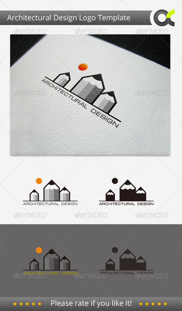 Architectural Design Logo Template - Objects Logo Templates