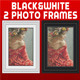 White and Black Photo Frames - GraphicRiver Item for Sale