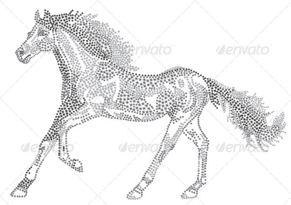 GraphicRiver 2014 Chinese Lunar New Year of the Horse Zodiac 5039805