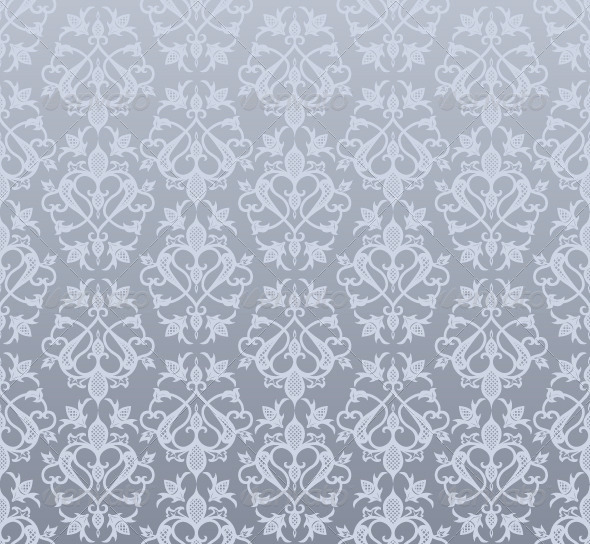 GraphicRiver Vintage Seamless Wallpaper Pattern 5040310