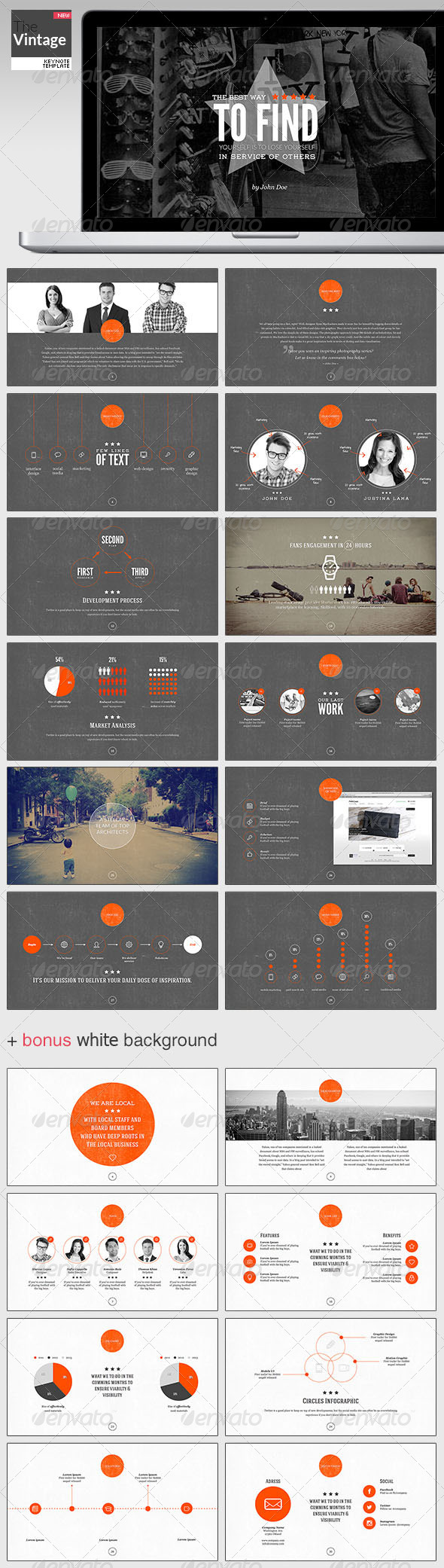 GraphicRiver TheVintage Keynote Template 5040415