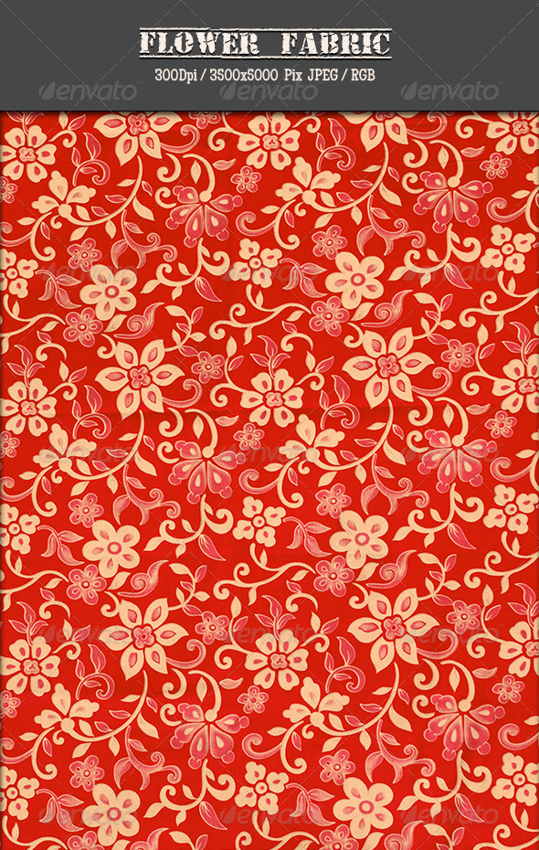 GraphicRiver Flower Fabric 28 5040416