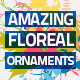 32 Floreal Ornaments - GraphicRiver Item for Sale
