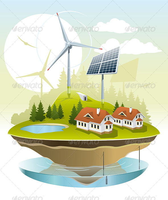 GraphicRiver Ecovillage 5040810