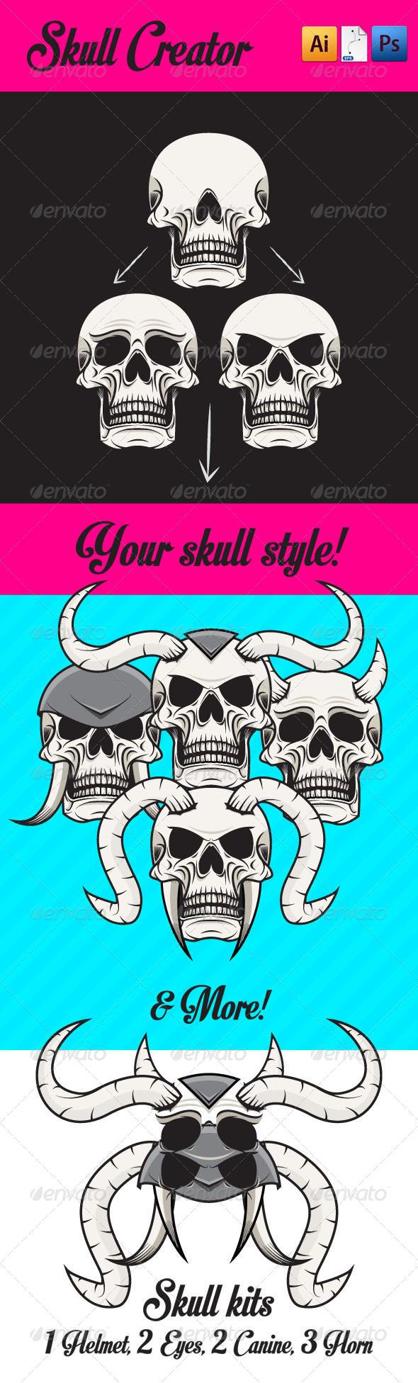 GraphicRiver Skull Creator 5041244