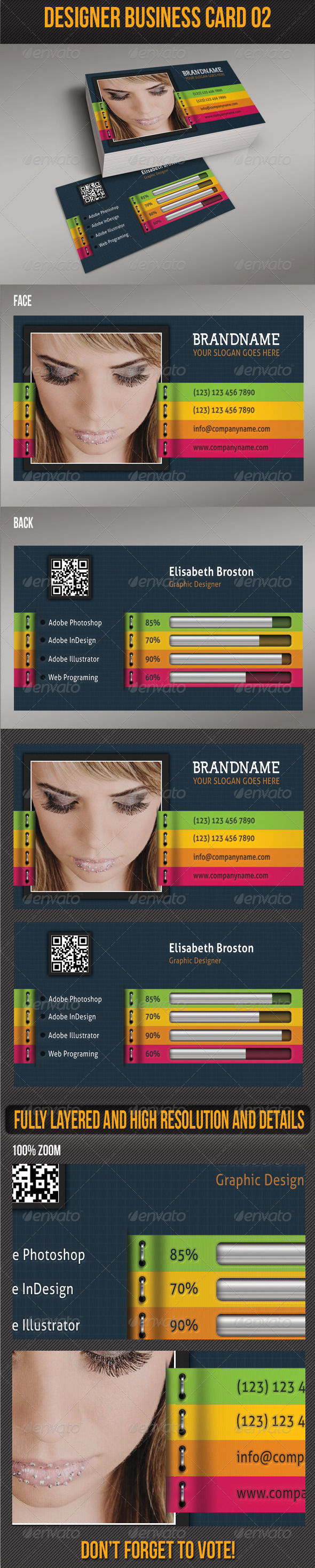 GraphicRiver Designer Business Card 02 4982840