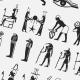 30 Egypt Symbols Custom Shape (2) - GraphicRiver Item for Sale